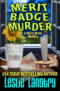 Merit Badge Murder by Leslie Langtry